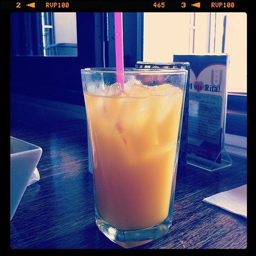 {Day 18: Drink} Mango Agua #febphotoaday #catchup
