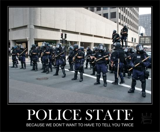 Welcome to the new US Police State - brought to you by the National Defense Authorization Act, NDAA
