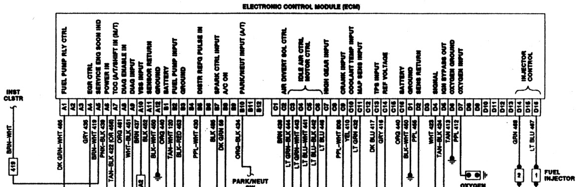 29 1989 Chevy C1500 Wiring Diagram