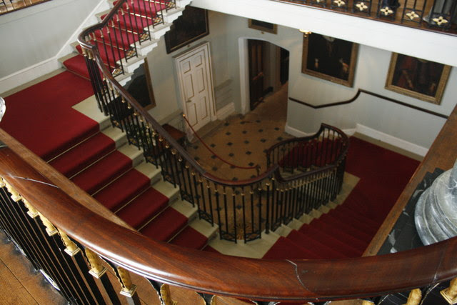 The Grand Staircase Chirk Castle Brian Tamplin Cc By Sa