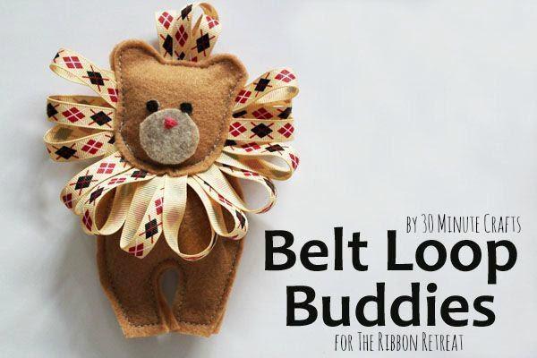 Belt Loop Buddies - The Ribbon Retreat Blog