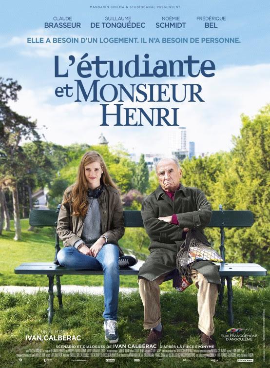 Resultado de imagem para movie poster l'étudiante et monsieur henri