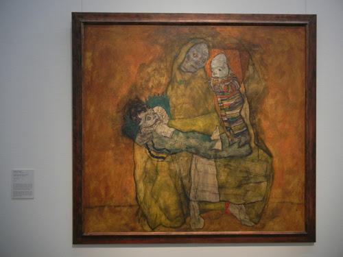 DSCN0913 _ Mutter mit zwei Kindern II, 1915, Egon Schiele, Leopold Museum