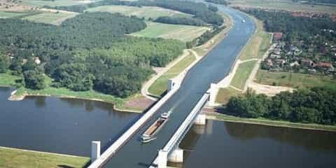 Jembatan Air Terpanjang di Dunia