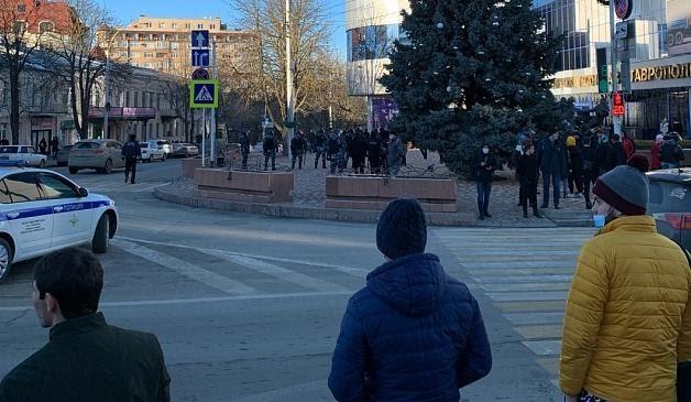 Участников акций 23 января задерживали в регионах СКФО