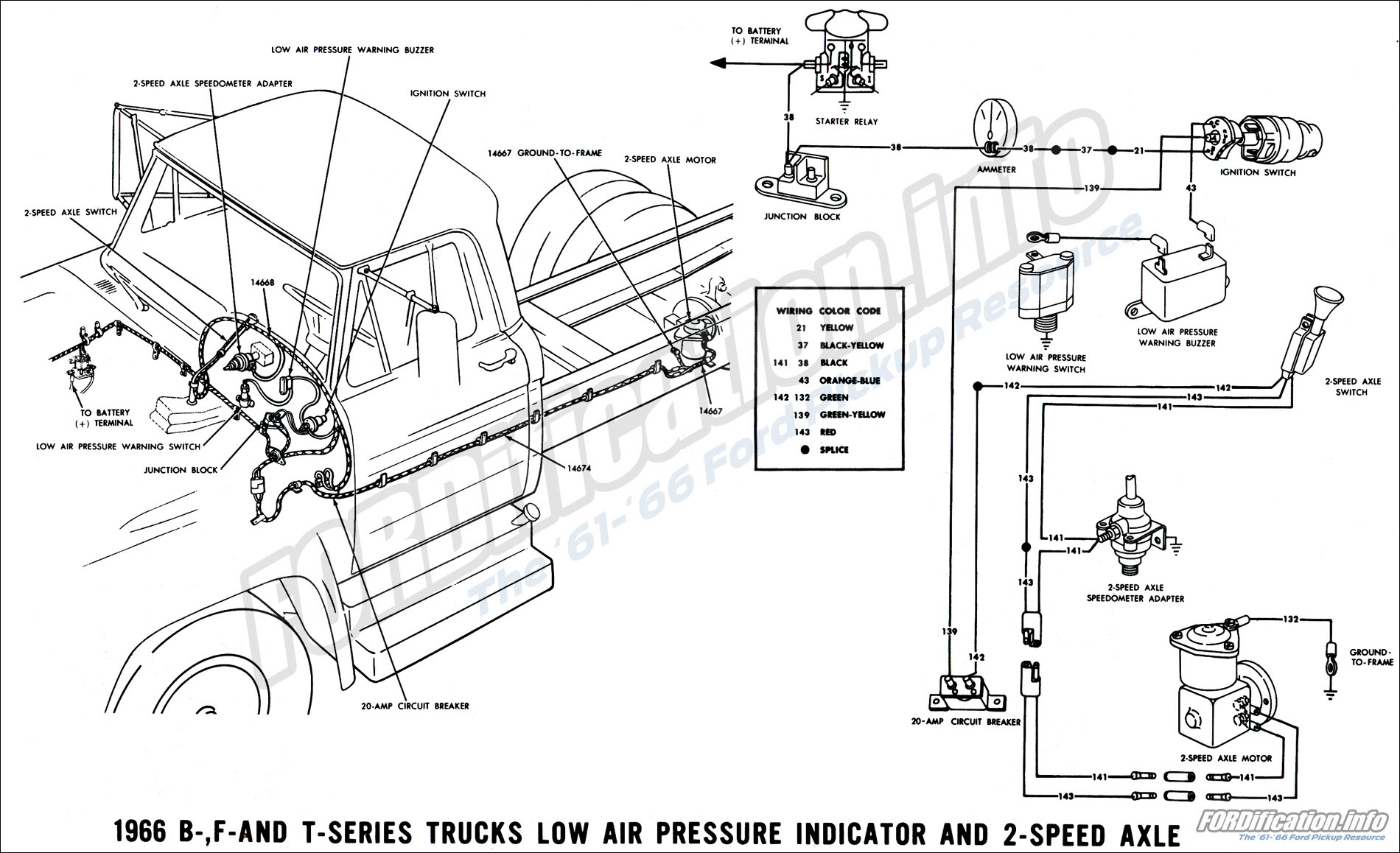 68 ford truck wiring diagram image 7