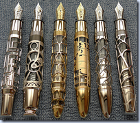 Skeleton pens