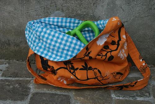 strandtas/boodschappentas