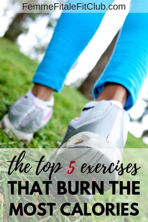 femme fitale fit club blogthe top  exercises  burn