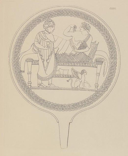 Etruskische Spiegel by Eduard Gerhard, 1840s a