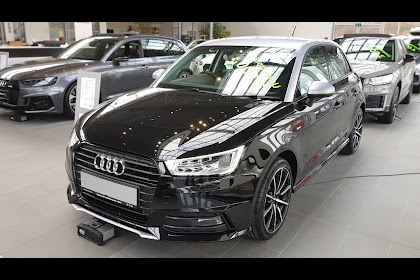 Audi A1 Sportback 2018 Schwarz