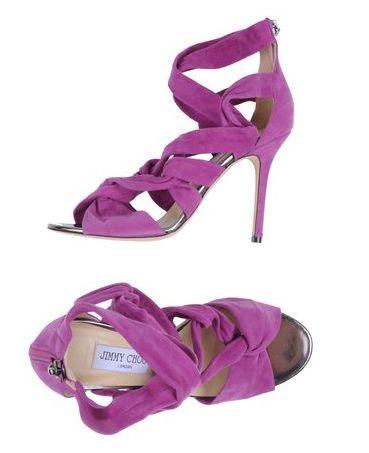 Radiant Orchid Shoes. #radiantorchid #radiantorchidweddings