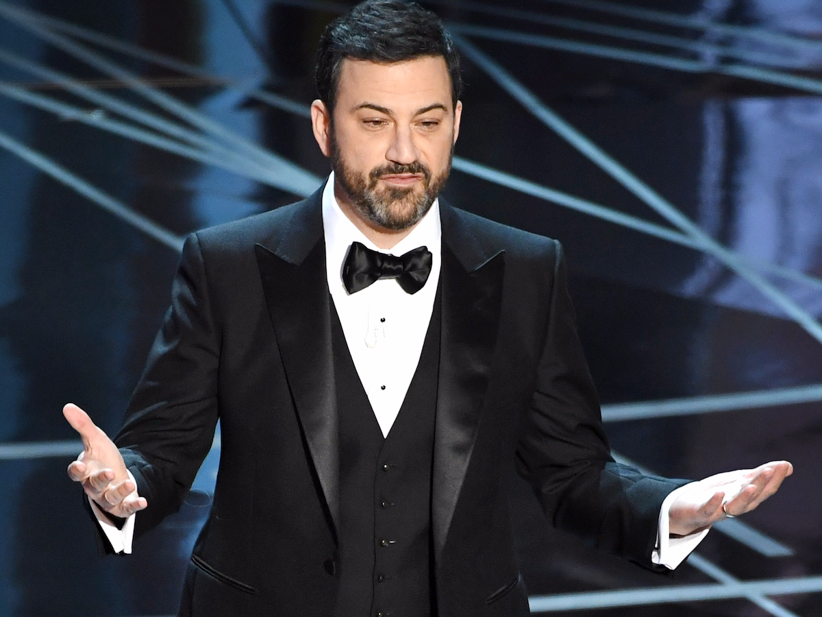 Getty Images jimmy kimmel donald trump oscars monologue