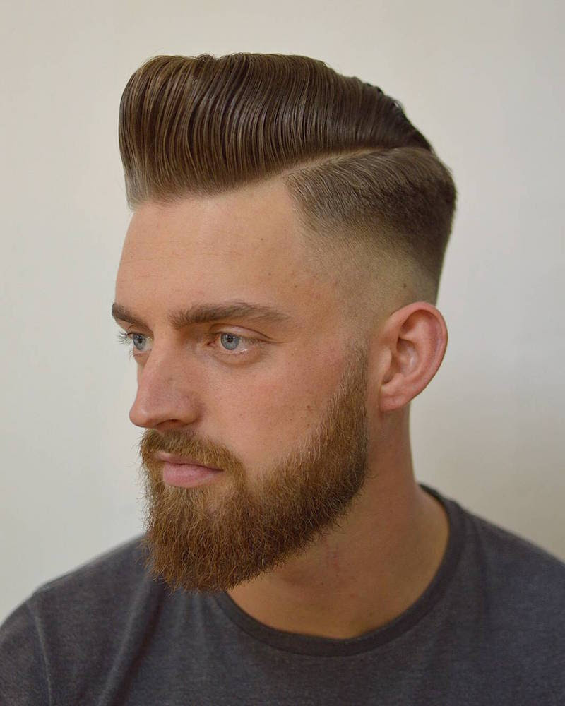 Pompadours Most Popular New Hairstyles