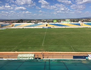 guarani de juazeiro x central estádio romeirão (Foto: André Ráguine / GloboEsporte.com)