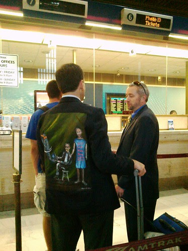 Josh Seidman in his jacket