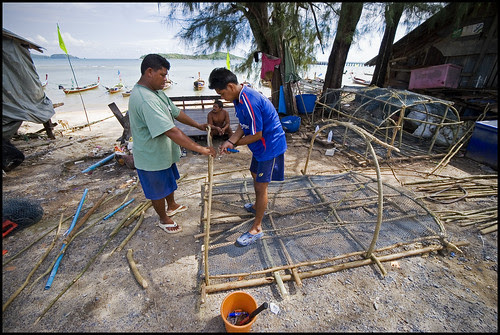 Making the Fish Trap