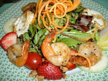 Gretchen's Fried Goat Cheese Salad