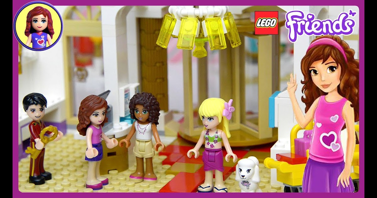 Lego Friends Heartlake Grand Hotel Set Part 1 Unboxing Lego Technic And Mindstorms