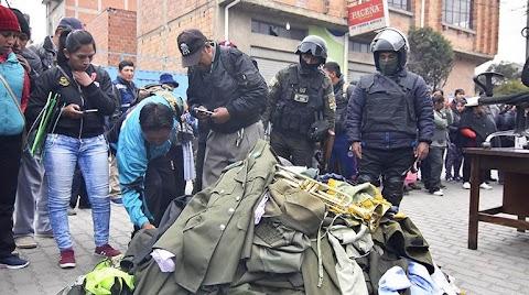 El Alto: Muere un sargento golpeado por una turba