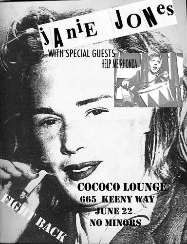 Janie Jones at the Cococo