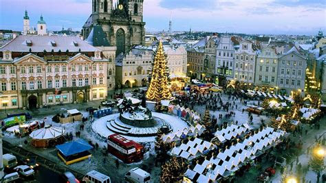 full hd wallpaper prague christmas cathedral desktop