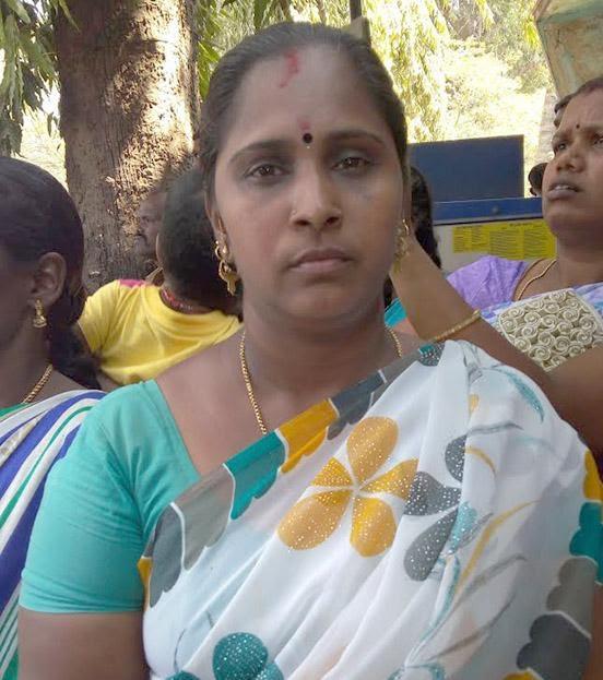 அலங்காநல்லூர் போராட்டத்தில் ரீட்டா சரவணன்