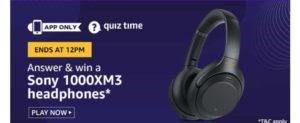 Amazon quiz answer today 30 june