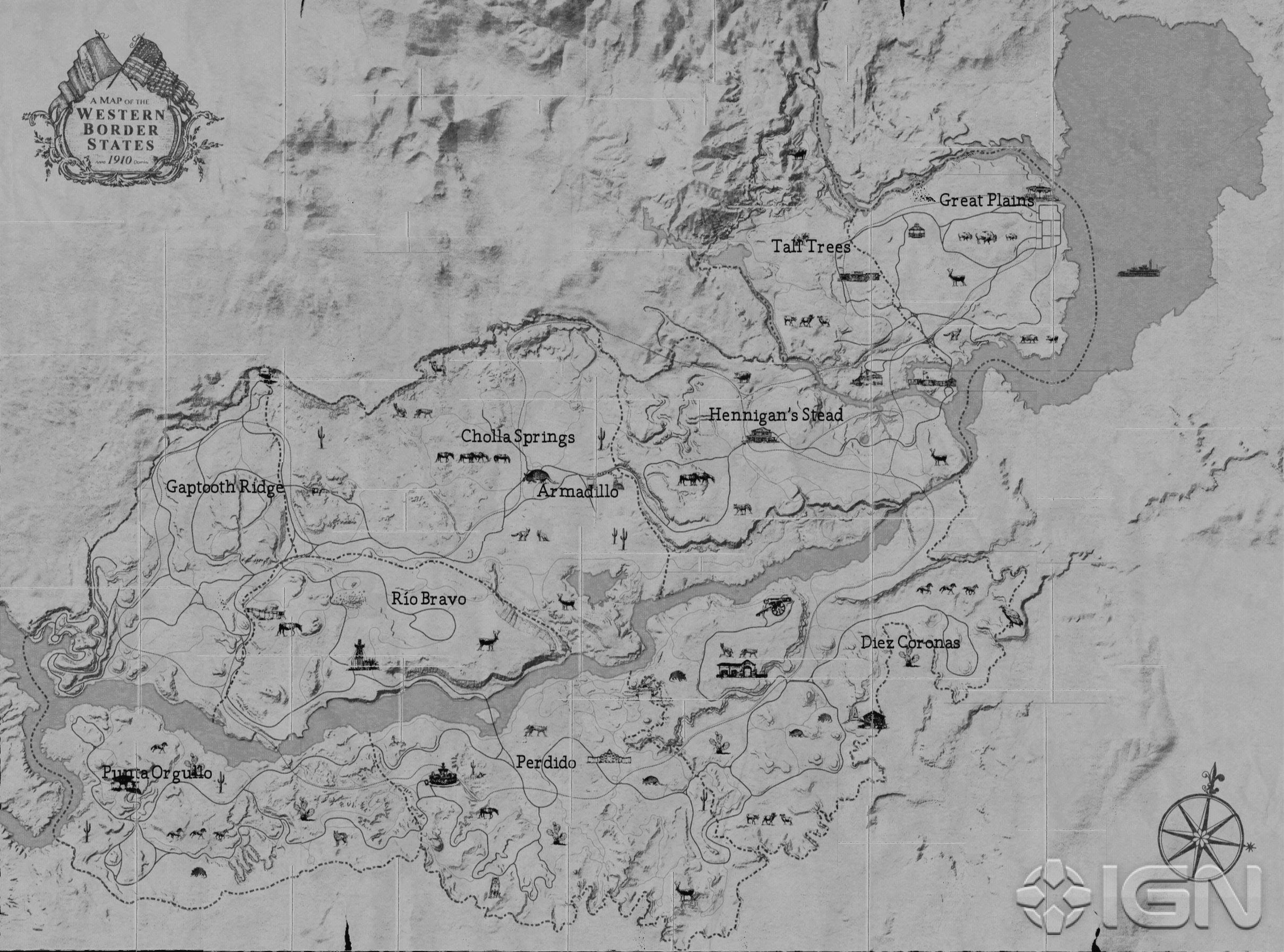 Image Result For Red Dead Map
