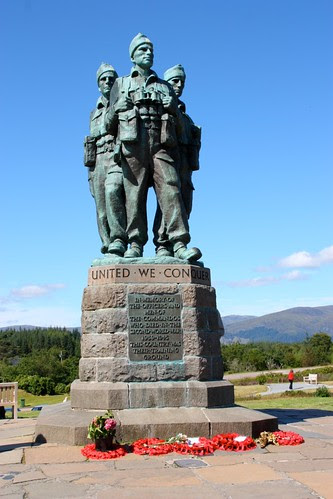 Commando Memorial in Scotland
