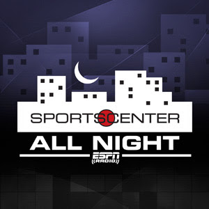 Espn Sportscenter Allnight Podcast Show Podcenter Espn Radio