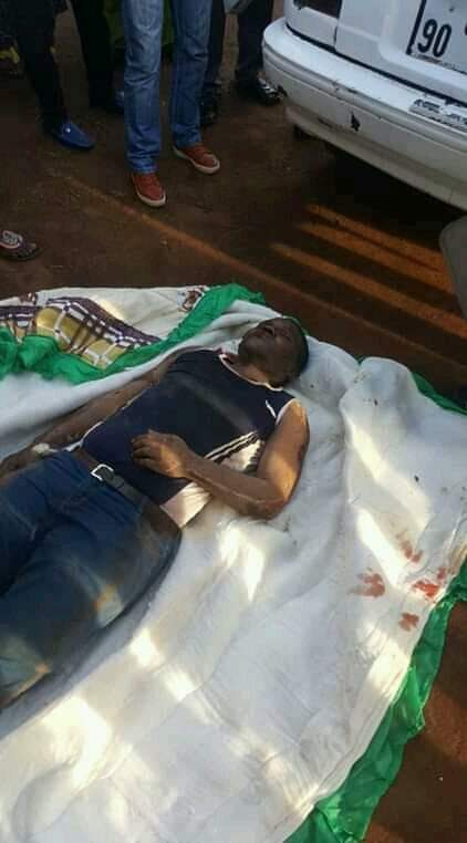 Cameroonian Soldiers Kill A Nigerian Businessman For Selling Tramadol (Graphic)