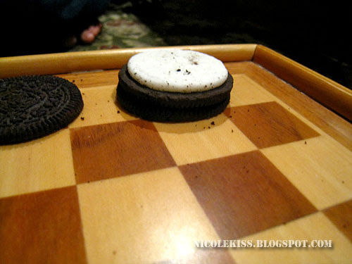 my kind of oreo checkers
