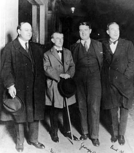 File:Léon-Paul Fargue, Maurice Ravel, Georges Auric, Paul Morand.jpg