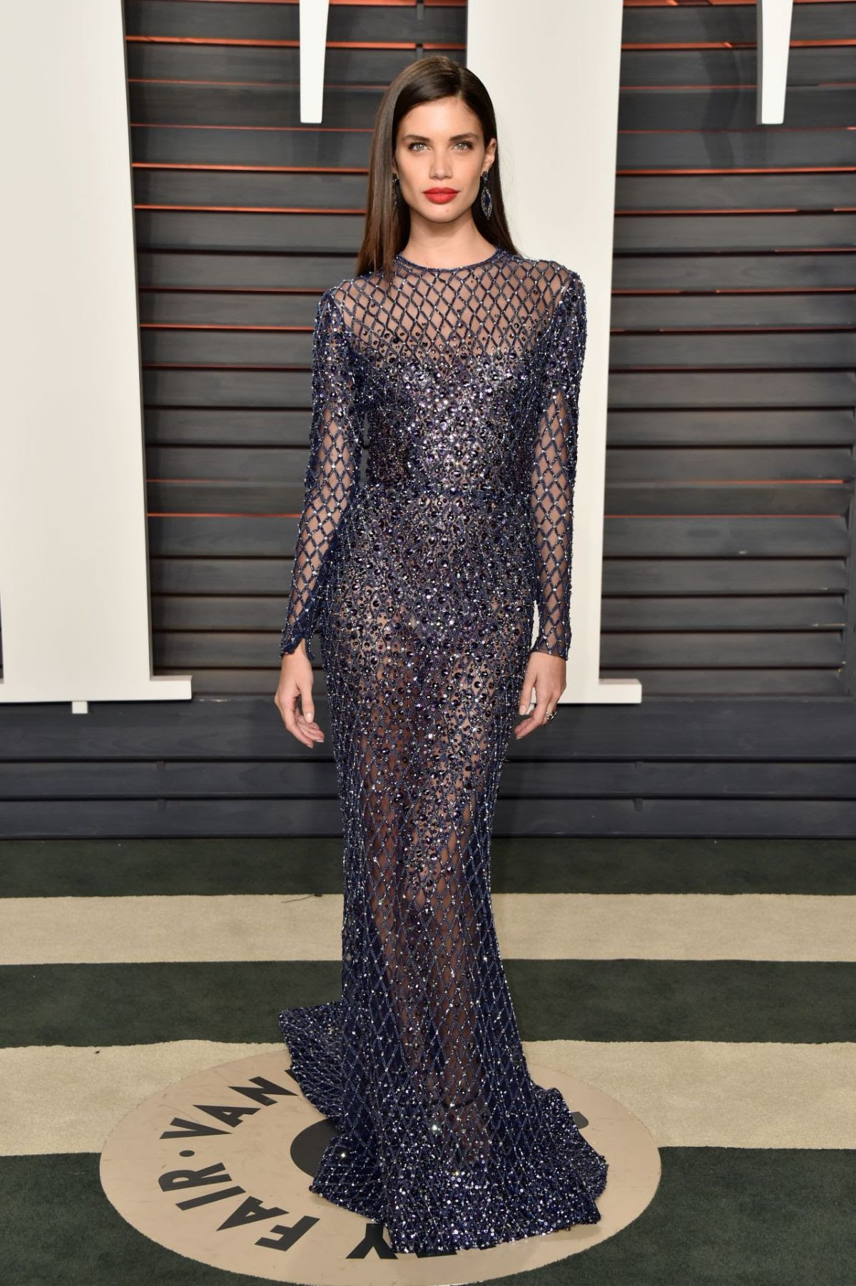 SARA SAMPAIO at Vanity Fair Oscar 2016 Party in Beverly Hills 02/28/2016