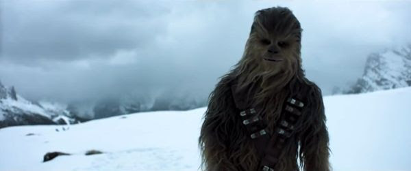 Joonas Suotamo, who played Chewbacca in STAR WARS: THE LAST JEDI, reprises his role as the Wookie in SOLO: A STAR WARS STORY.