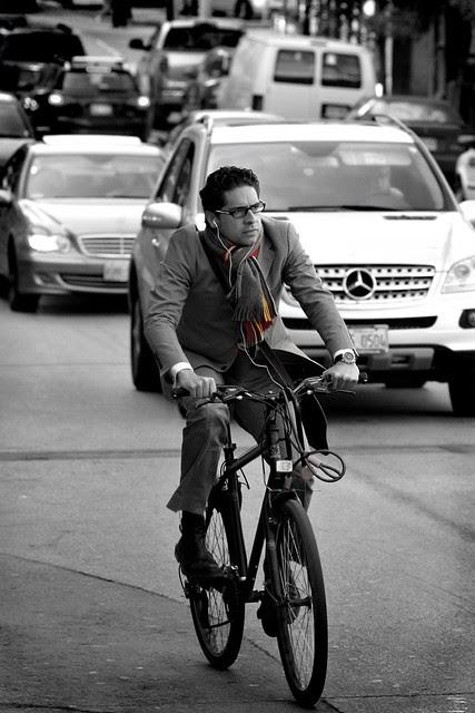 who needs a benz when you got a bike?