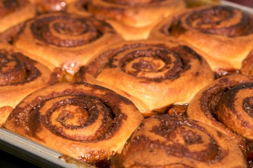 Bake the sticky buns