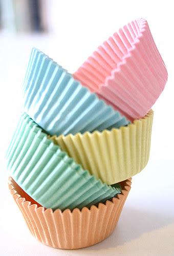 Mini muffin paper cases