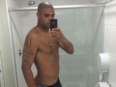 Adriano Imperador  espelho foto (Foto: Reprodução )