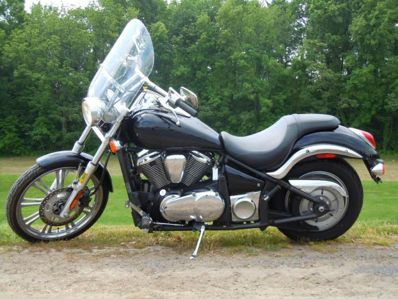 Buy 2009 Kawasaki Vulcan 900 Custom Low Miles Pipes On