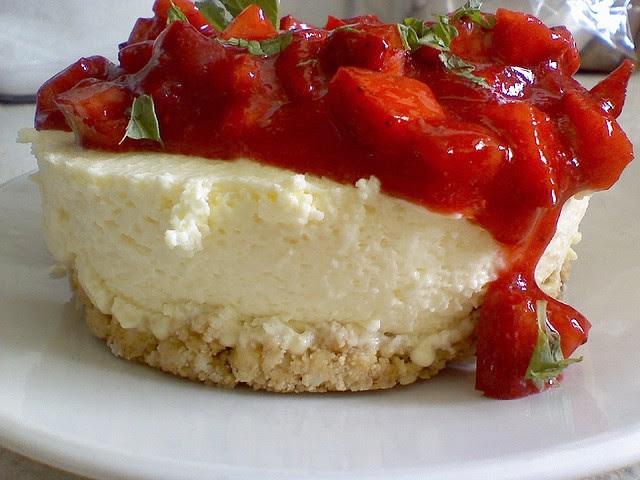 Cheesecake alle Fragole - Ricetta con Philadelphia
