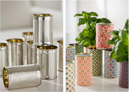 Green is the new black: Beautiful paper jars