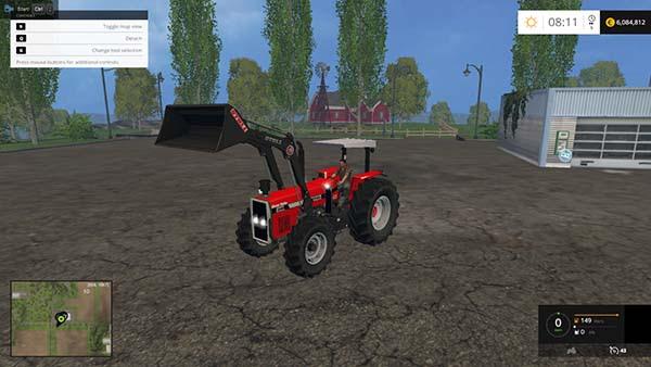 Massey Ferguson 2680 Front Loader Farming Simulator 2015