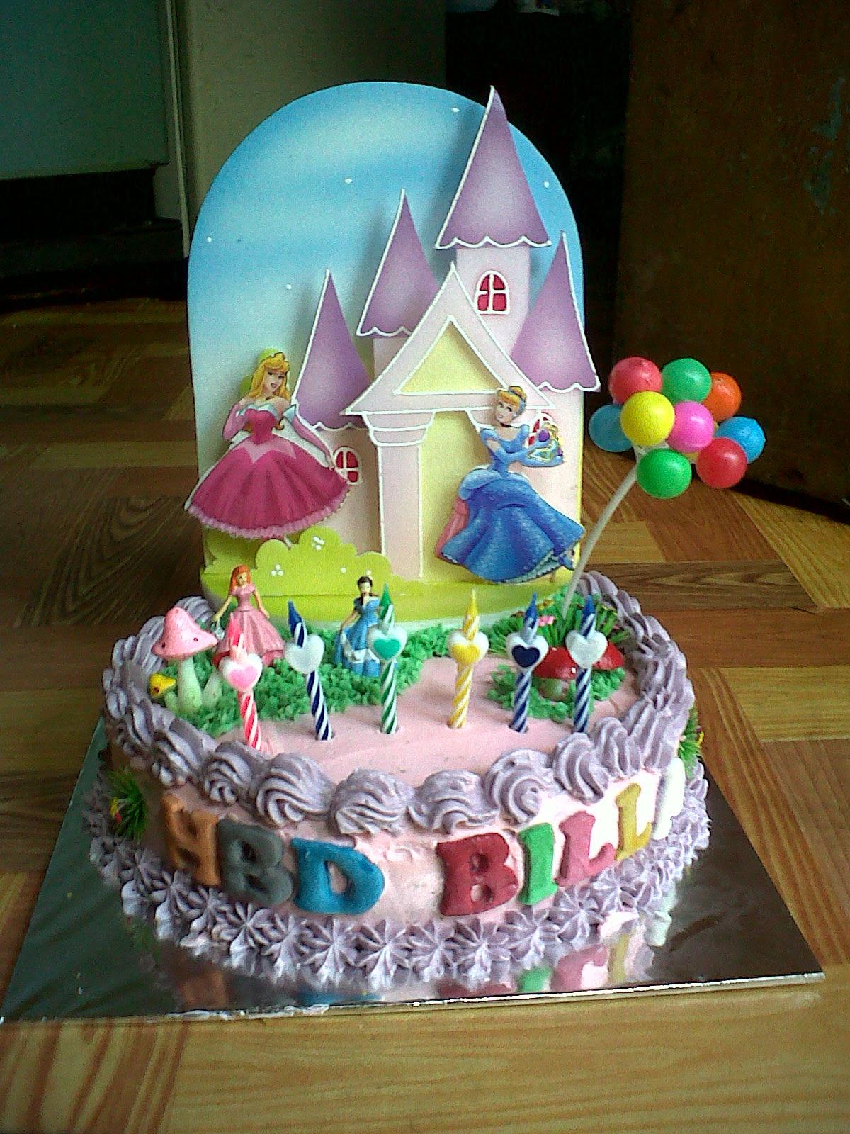 Contoh Gambar Kue Ulang Tahun Hontoh