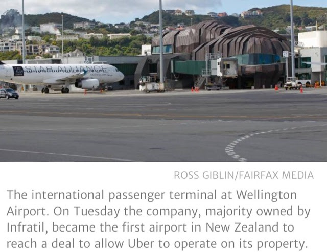 Wellington Airport strikes deal with Uber, creating pick-up area and charging fees