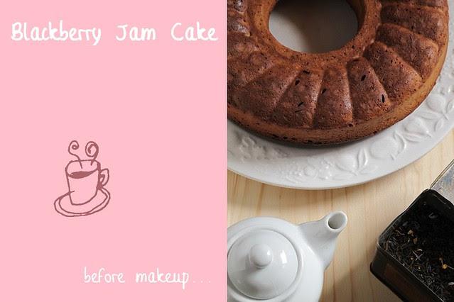 Blackberry Jam Cake: è l'ora del tè!
