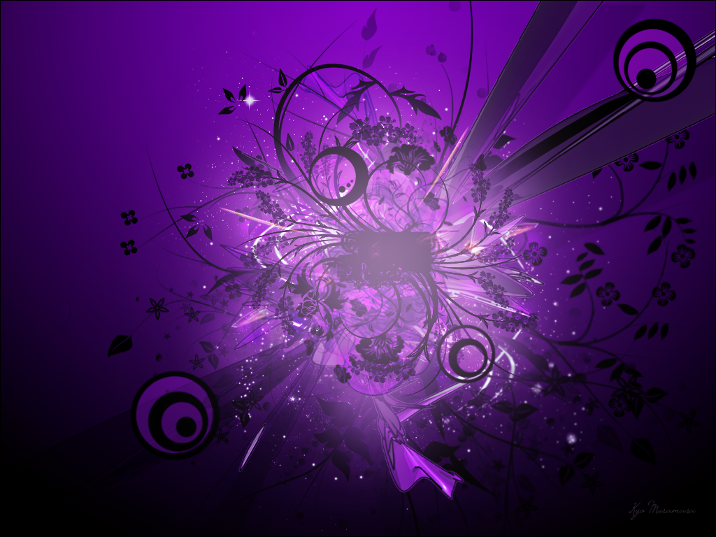 Black Purple Wallpaper Sf Wallpaper