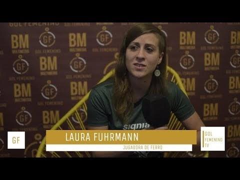 Entrevista a Laura Furhmann en #GolFemeninoTV