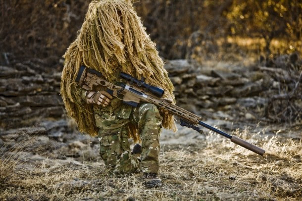US Army Special Forces Sniper